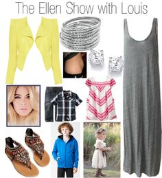 """The Ellen Show with Louis"" by onedoutfits269 ❤ liked on Polyvore"