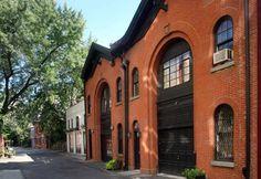 Brooklyn Heights carriage house.