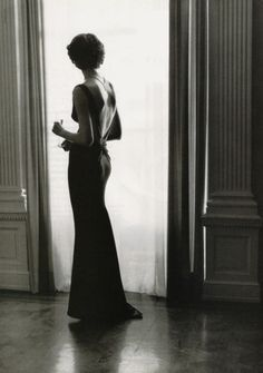 """""""The dress must follow the body of a woman, not the body following the shape of the dress."""" - Hubert de Givenchy"""