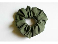 Scrunchie Army Green