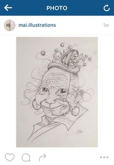 Illustration by Maya E Shakur on Instagram.