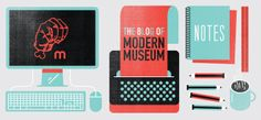 MODERN MUSEUM  |  WEBSITE by Hylton Warburton, via Behance