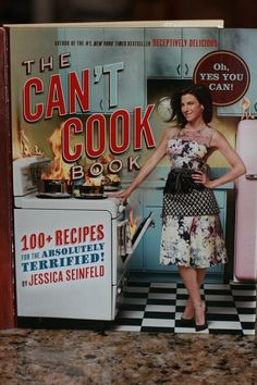 October 2013 #Popsugar Must Have Box: Jessica Seinfeld - The Can't Cook Cookbook