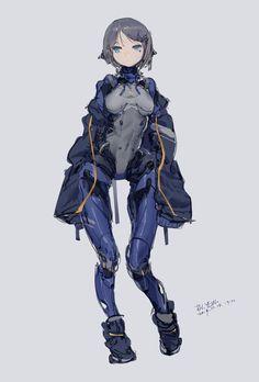 TOMOx@モデラー(@TOMOx_x22)さん | Twitterがいいねしたツイート Female Character Design, Character Creation, Character Design Inspiration, Character Concept, Character Art, Girls Characters, Manga Characters, Fantasy Characters, Female Characters