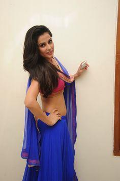 Disha Pandey Hot in Blue Dress
