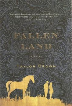 FALLEN LAND is so beautifully written, you'll immediately find someone to hand it to after your finish.