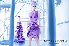 Nicolas Jebran - Spring Summer 2011 - Origami Collection