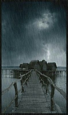 "Well, I love a rainy night It's such a beautiful sight.""....."