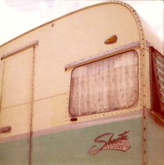 Shasta Trailer ~ my grandparents had a Shasta...