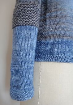Ravelry: leslieeaton's Antler in blues