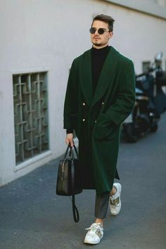 Street Style Archives - Page 10 of 186 - Best Dressed Man on the Planet Men Street, Street Wear, Coat Dress, Men Dress, Moda Indie, Stylish Men, Men Casual, Cool Outfits, Casual Outfits
