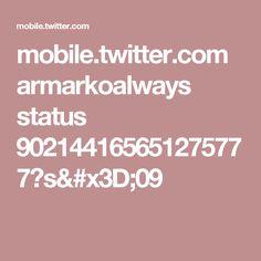 mobile.twitter.com armarkoalways status 902144165651275777?s=09