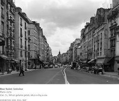 Rue Saint Antoine  Paris  1979
