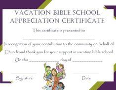 Lifeway Vbs Certificate Template Vbs Certificate Template