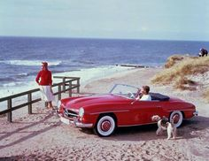 Mercedes-Benz 190 SL and a WFT!