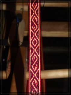 tablet woven by Frank Thiele