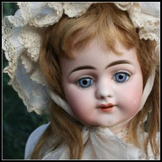 """23"""" German Bisque Child, 719, by Simon and Halbig"""