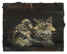 Allison Schulnik, 'One-Eyed Goofy,' 2015, Mark Moore Gallery