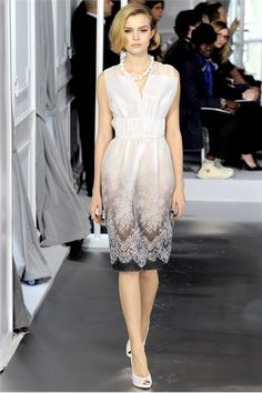 christian dior | Christian Dior, haute couture p/e 2012 | The Style Pocketbook