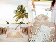 Strandhochzeit Zeremonie