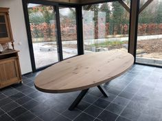 Unique Dining Tables, Dining Table In Kitchen, Dining Room, Home Furniture, Furniture Design, Outdoor Furniture, Outdoor Decor, Sweet Home, New Homes