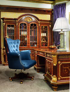 english country style office | ... Classic Furniture :: Classic English Office Study Room Furniture Sets