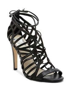 Dv Dolce Vita | Open Toe Caged Ghillie Lace Up Sandals - Tessah High Heel #DolceVita
