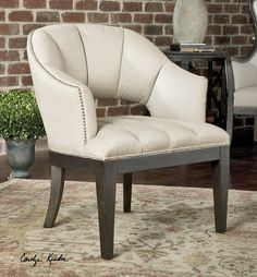 Uttermost Bovary Armchair #home #decor #accent #chair #chairs #modern