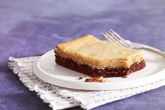Warm Peanut Butter-Chocolate Cake .... Chocolate cake mix is transformed into a warm, gooey treat with a layer of sweetened cream cheese and peanut butter.