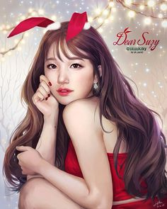 Merry Christmas . . #art #draw #drawing #daily #illustration #digitalworks #painting #portrait #color #artwork #드로잉 #그림 #일상 #일러스트 #소통 #일러스타그램 #데일리 #취미 #팬아트 #skuukzky #수지 #suzy @skuukzky