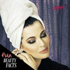 #FunFact: Women like to make turban on their heads every time after taking a bath.