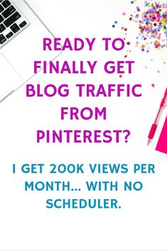 PINTEREST STRATEGIES FOR BLOGGERS!  If you're frustrated with social media and not getting any blog traffic from pinterest, it's time you try this!