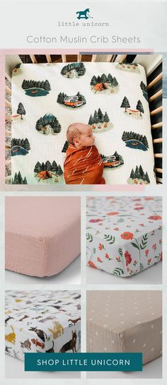 Available in both standard and mini-size, our crib sheets feature our signature hand-painted prints to compliment baby's stylish nursery. Crafted in breathable cotton muslin that gets softer with every wash. Baby Boy Rooms, Baby Boy Nurseries, Baby Room, Baby Shower Gifts, Baby Gifts, Cute Baby Clothes, Diy Clothes, Everything Baby, Nursery Inspiration