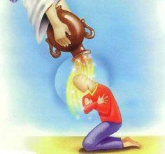 Nuevo Testamento, Lucas cap. 10, vers 34   y acercándose, vendó sus heridas, echándoles aceite y vino; y poniéndole en su cabalgadura, lo llevó al mesón, y cuidó de él.