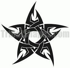 Tribal Hand Tattoos, Tribal Wolf Tattoo, Star Tattoos, Tribal Art, Body Art Tattoos, Free Tattoo Designs, Tribal Tattoo Designs, Simple Tattoo With Meaning, Photographer Tattoo