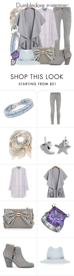 """Dumbledore"" by leslieakay ❤ liked on Polyvore featuring Swarovski, Frame Denim, Sophie Darling, Stills, Betsey Johnson, AL-X-A, rag & bone and harrypotter"