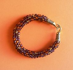 Kumihimo Bracelet, Beaded Bracelet, Gift For Her by MyIslandDream on Etsy