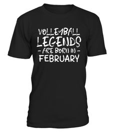 """# Volleyball Legend Born February Funny Birthday TShirt .  Special Offer, not available in shops      Comes in a variety of styles and colours      Buy yours now before it is too late!      Secured payment via Visa / Mastercard / Amex / PayPal      How to place an order            Choose the model from the drop-down menu      Click on """"Buy it now""""      Choose the size and the quantity      Add your delivery address and bank details      And that's it!      Tags: Perfect birthday gift for…"""