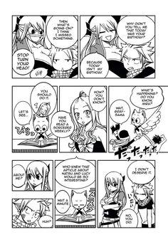 Cover Doujinshiand Language VersionsFairy Tail - Fictional Romance ( Nalu Doujinshi ) Page 1       Page 21 ...