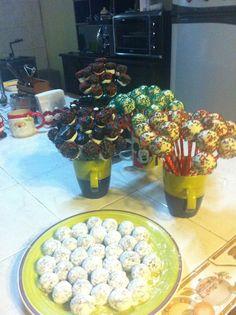 Pop cake navidad