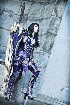 """Dragon Cosplay Summit : Laura Jansen remporte le concours - Avec son impressionnante armure fabriquée à la main, Laura """" Lightning """" Jansen a non seulement conquis le coeur de la communauté de Dragon's Prophet mais elle s'est également hissée sur la plus ..."""