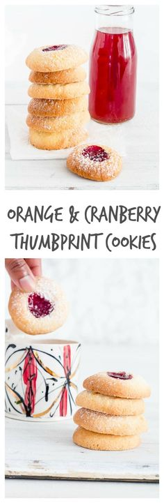 orange and cranberry thumbprint-cookies-38 | Recipes From A Pantry