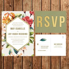 | THE TROPICAL COLLECTION INVITATION SUITE |    This invitation suite includes a 5x7 Invitation and a 5x3.5 postcard. You can choose to purchase