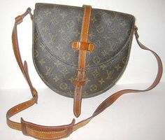 Vintage Authentic Louis Vuitton Chantilly Monogram Canvas Bag Shoulder Cross Body Vintage 80s by backtocapri on Etsy https://www.etsy.com/listing/14585860/vintage-authentic-louis-vuitton