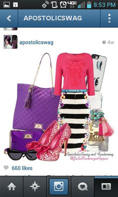 Love the style! Follow @Apostolic Swag on IG ;)