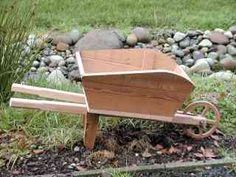 build your own Old Fashion Lawn Wheelbarrow Planter