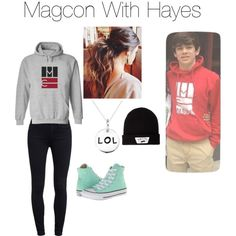 """""""Magcon With Hayes"""" by kj1974 on Polyvore"""