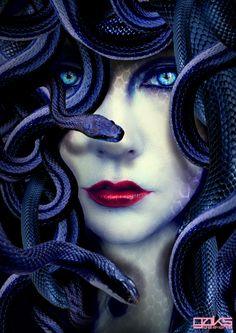 Medusa – The Libyan Dark Moon Serpent Goddess   Goddess Inspired
