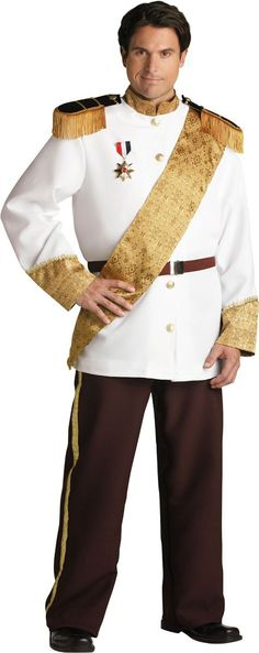 adult elite plus size prince charming costume party city - Prince Charming Halloween Costumes