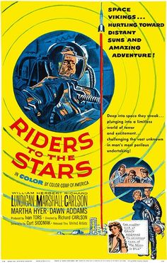 Riders To The Stars #2 - 1954 - Movie Poster